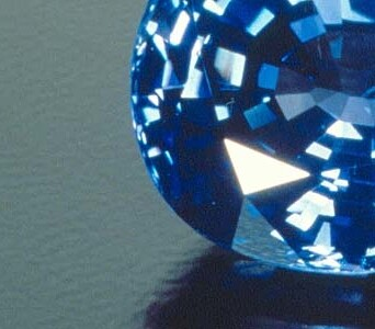 Blue Sapphire Detail