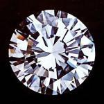 Round Diamond in brilliant cut